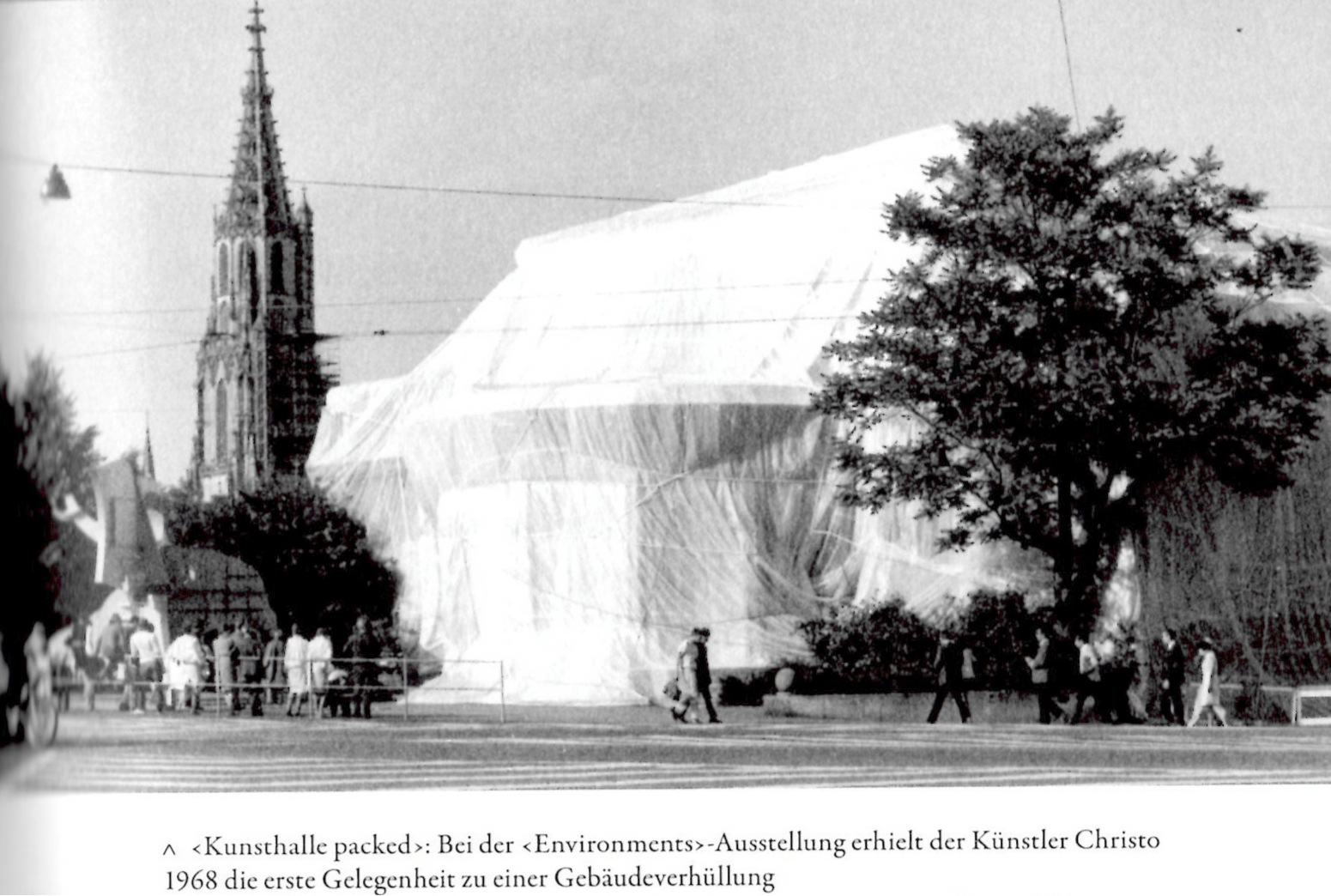 Blog 1958 Kunsthalle Christo Bern Inside By Beatrice Lang